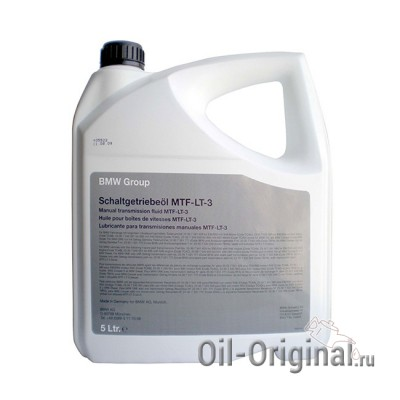 Трансмиссионное масло BMW Group Schaltgetriebeol MTF-LT-3 (5л)