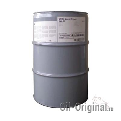 Моторное масло BMW Super Power Oil 5W-40 SJ (60л)