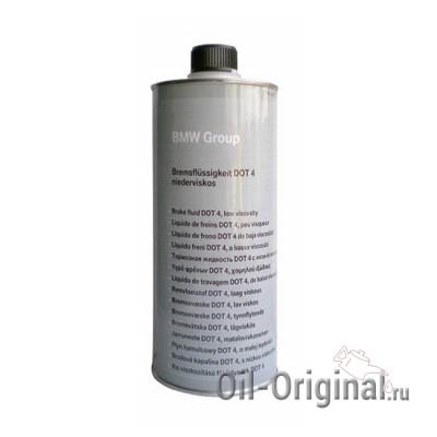 Тормозная жидкость BMW Bremsfl?ssigkeit DOT-4 (1л)