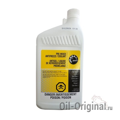 Антифриз BRP Pre-Mixed Antifreeze/Coolant (1л)