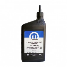 Трансмиссионное масло MOPAR Synthetic Gear & Axle Lubricant 75W-90 (0,946л)