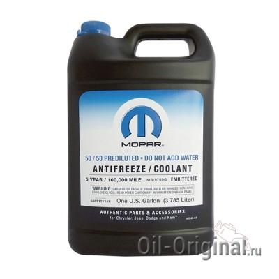 Антифриз готовый красный MOPAR Prediluted antifreeze/coolant 5-year (3,785л)