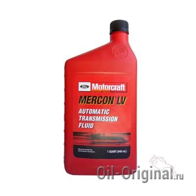 Жидкость для АКПП FORD Motorcraft Mercon LV Automatic Transmission Fluid (0,946л)