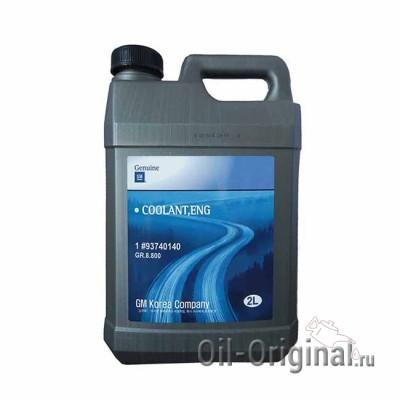 Антифриз концентрированный синий GM COOLANT M-2807 (2л)