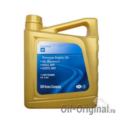 Моторное масло GM Dexos1 5W-30 (3,8л)