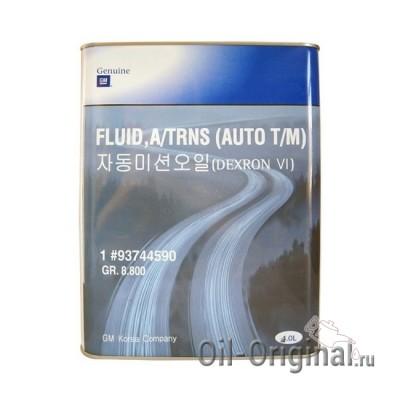 Жидкость для АКПП GM Dexron 6 (4л)
