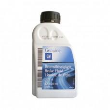 Тормозная жидкость GM DOT-4 Brake Fluid (0,5л)