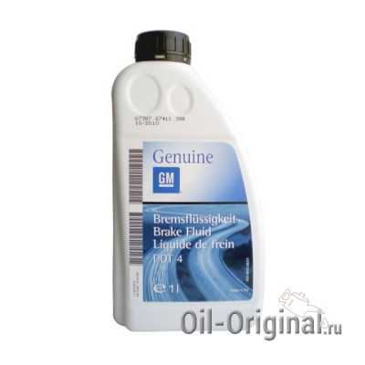 Тормозная жидкость GM DOT-4 Brake Fluid (1л)