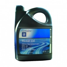 Моторное масло GM Motor Oil Semi Synthetic 10W-40 SL/CF (5л)