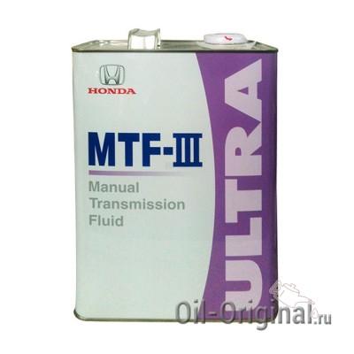 Трансмиссионное масло HONDA MTF-3 Ultra (4л)