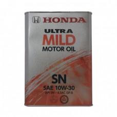 Моторное масло HONDA Ultra MILD Motor Oil 10W-30 SN (4л)