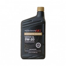 Моторное масло HONDA SYNTHETIC BLEND Motor Oil 5W-20 SN (0,946л)