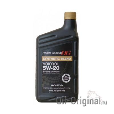 Моторное масло HONDA SYNTHETIC BLEND Motor Oil 5W-20 SN (0,946л)