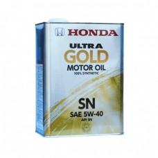 Моторное масло HONDA ULTRA GOLD 5W40 SN (4л)