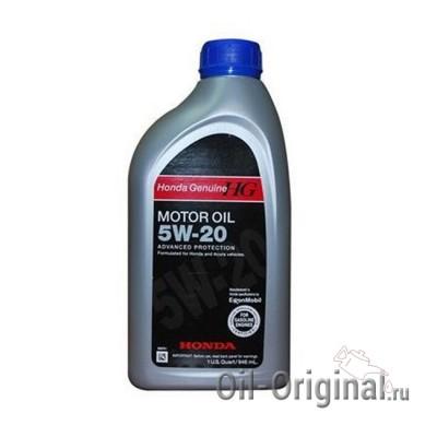 Моторное масло HONDA Motor Oil 5W-20 SL (0,946л)