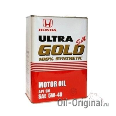 Моторное масло HONDA ULTRA GOLD 5W40 SM (4л)