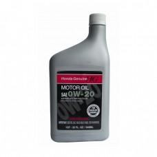 Моторное масло HONDA Motor Oil 0W-20 SM/SL (0,946л)