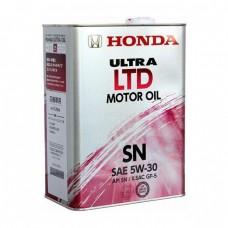 Моторное масло HONDA Ultra LTD Motor Oil 5W-30 SN (4л)