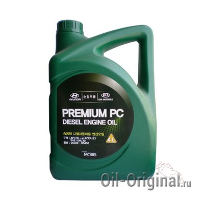 Моторное масло Hyundai Premium PC Diesel 10W30 CH-4 (4л)