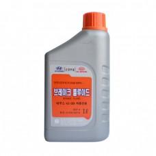 Тормозная жидкость Hyundai Brake Fluid DOT-4 (1л)