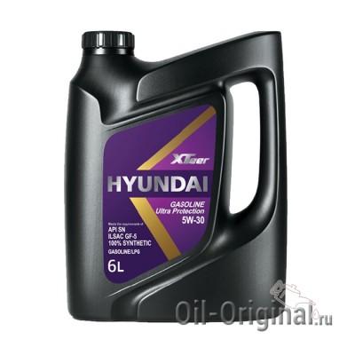 Моторное мало HYUNDAI XTeer Gasoline Ultra Protection 5W-30 (6л)