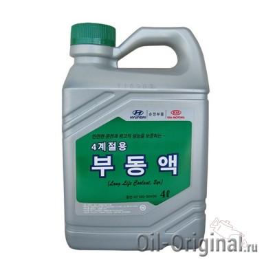 Антифриз концентрированный Hyundai Long Life Coolant (4л)