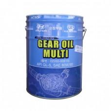 Трансмиссионное масло HYUNDAI Gear Oil Multi 80W90 GL-5 (20л)