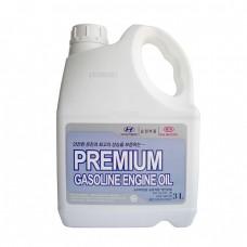 Моторное масло Hyundai Premium Gasoline 5W20 SL (3л)