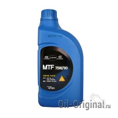Трансмиссионное масло для МКПП Hyundai MTF 75W-90 GL-4 (1л)