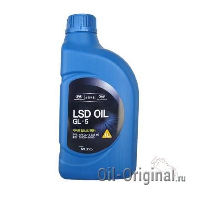 Трансмиссионное масло HYUNDAI LSD Oil SAE 90 GL-5 (1л)