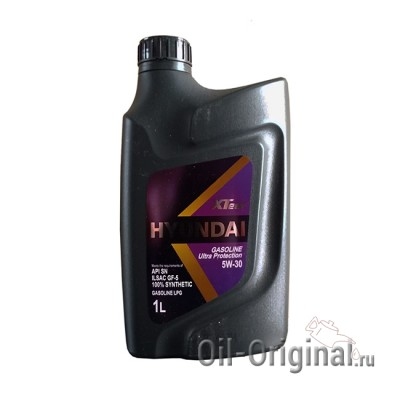 Моторное мало HYUNDAI XTeer Gasoline Ultra Protection 5W-30 (1л)