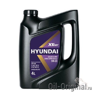 Моторное масло Hyundai XTeer Ultra GSL FE 5W-20 (4л)