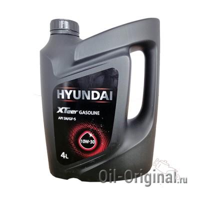 Моторное мало HYUNDAI XTeer Gasoline 10W-30 (4л)