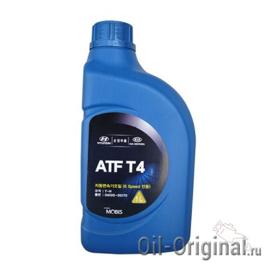 Жидкость для АКПП Hyundai ATF T4 (1л)