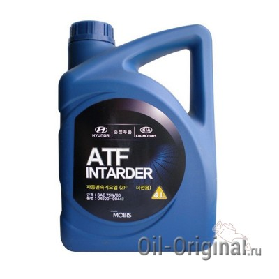 Жидкость для АКПП Hyundai ATF Intarder 75W80 (4л)