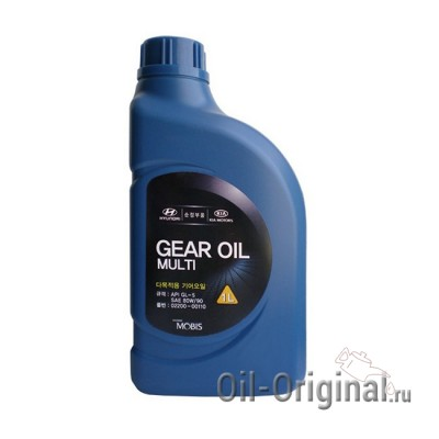 Трансмиссионное масло HYUNDAI Gear Oil Multi 80W90 GL-5 (1л)