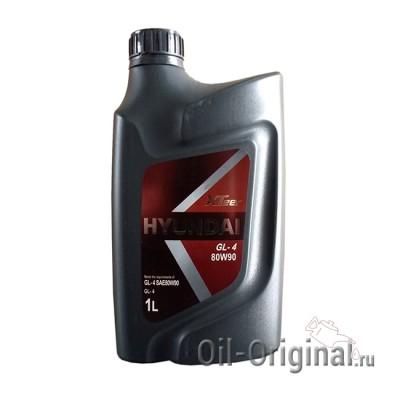 Трансмиссионное масло HYUNDAI XTeer GL-4 80W-90 (1л)
