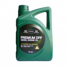 Моторное масло Hyundai Premium DPF Diesel 5W-30 C3 (6л)