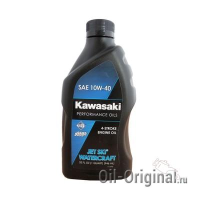 Моторное масло KAWASAKI Jet Ski Watercraft 4-Stroke Engine Oil 10W-40 (0,946л)
