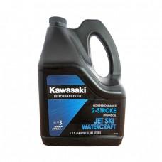 Моторное масло KAWASAKI Jet Ski Watercraft 2-Stroke Engine Oil (3,785л)