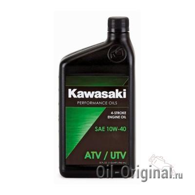 Моторное масло KAWASAKI ATV / UTV 4-Stroke Engine Oil 10W-40 (0,946л)