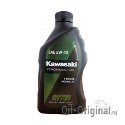 Моторное масло KAWASAKI ATV / UTV 4-Stroke Engine Oil 5W-40 (0,946л)