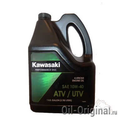 Моторное масло KAWASAKI ATV / UTV 4-Stroke Engine Oil 10W-40 (3,785л)