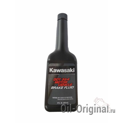 Тормозная жидкость KAWASAKI DOT 3/4 Motor Vehicle Brake Fluid (0,236л)