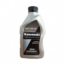Моторное масло KAWASAKI Semi-Synthetic 4-Stroke Engine Oil 10W-40 (0,946л)