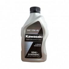 Моторное масло KAWASAKI Semi-Synthetic 4-Stroke Engine Oil 10W-40 (0,946л)