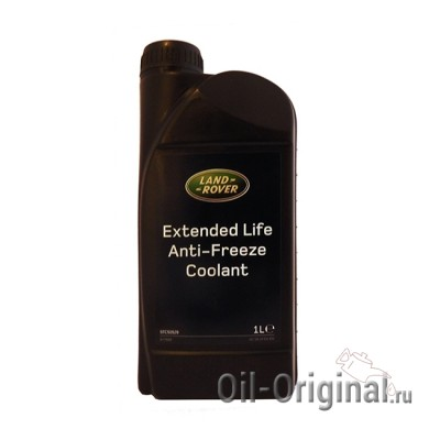 Антифриз концентрированный красный LAND ROVER Extended Life Anti-Freeze Coolant (1л)