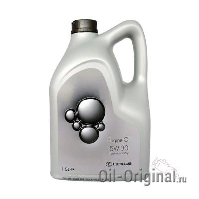 Моторное масло LEXUS Engine Oil 5W-30 SL/EC (5л)