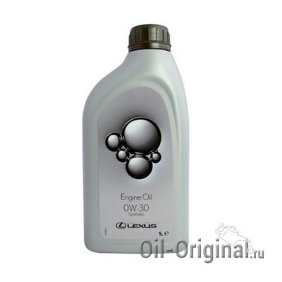 Моторное масло LEXUS Engine Oil 0W-30 SL/CF (1л)