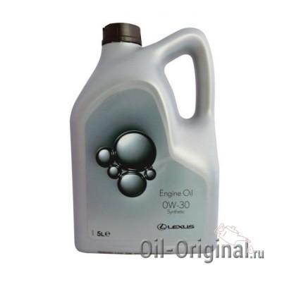 Моторное масло LEXUS Engine Oil 0W-30 SL/CF (5л)